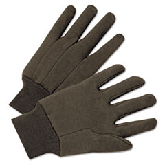 Anchor Jersey General Purpose Gloves, Brown, 1 Pair/Pk