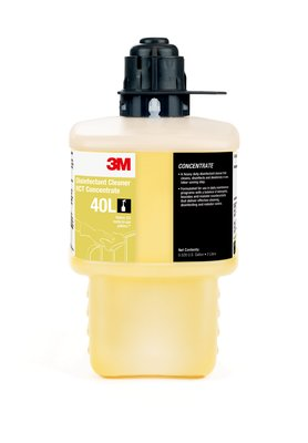 3M(Tm) Disinfectant Cleaner Rct Concentrate 40L, Gray